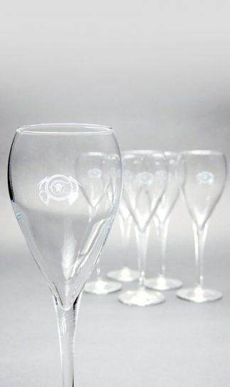 6 flutes Champagne Couvreur-Prak